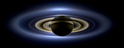 Saturn mit seinen Ringen