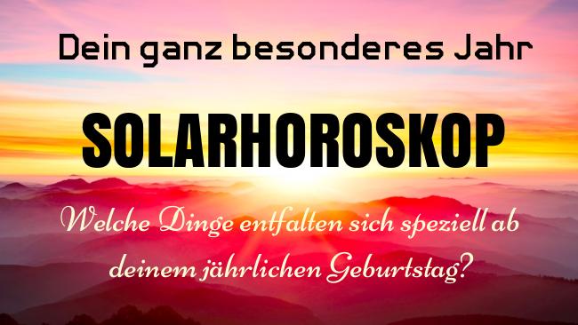 Solarhoroskop